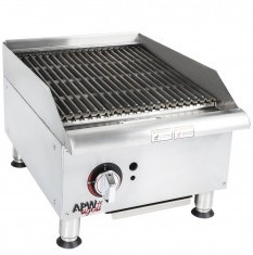 Broiler - Gas Char Rock Broiler (Counter Type)