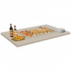 HATCO Built-in Heated Simulated Stone Shelves GRSSB-Series