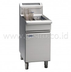 WALDORF 800 Series Gas Deep Fryer 2 x 13 liters FN8226G