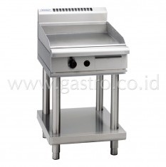 WALDORF 800 Series Gas Griddle 600 mm on SS Stand  GP8600G-LS