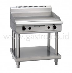 WALDORF 800 Series Gas Griddle 900 mm on SS Stand  GP8900G-LS