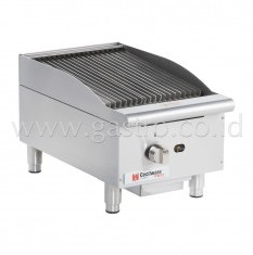CECILWARE Gas Radiant Charbroiler 15 inch CCP15