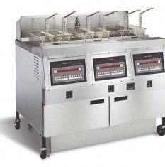 HENNY PENNY Gas Open Fryer - Triple Well 30 Liter OFG 323