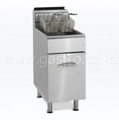 IMPERIAL Gas Deep Fryer Single Tank 22 Liter IFS-40