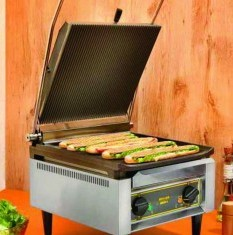 ROLLER GRILL High Capacity Electric Contact Grill PANINI XL