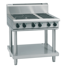 WALDORF 800 Series Electric Range 6 Plate on Leg Stand RN8600E-LS