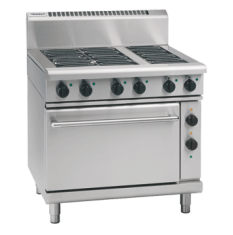 WALDORF 800 Series Electric Range 6 Plate on Electric Oven RN8610E