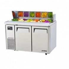 TURBOAIR Salad Prep Table 2 Door with Hood Lid KHR12-2