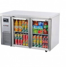 TURBOAIR Undercounter Chiller 2 Glass Door KGR12-2