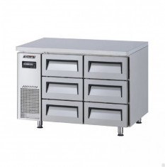 TURBOAIR Undercounter Chiller 6 x 1/3 Drawer KUR12-3D-6