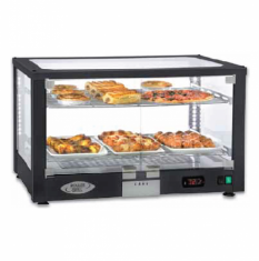 ROLLER GRILL Panoramic Ventilated Warming Display WD 780 SN