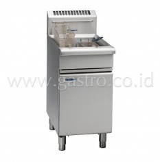 WALDORF 800 Series Gas Deep Fryer 1 x 20 liters FN8120G
